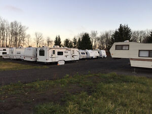 So you are buying an RV? Where will store it?