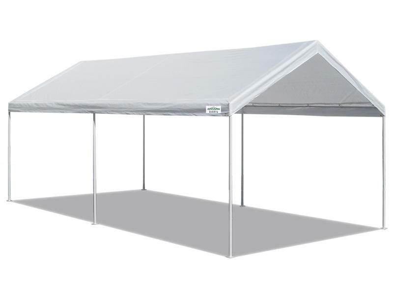 Canopy Carport 10 X 20 Heavy Duty Portable Garage Tent Car S