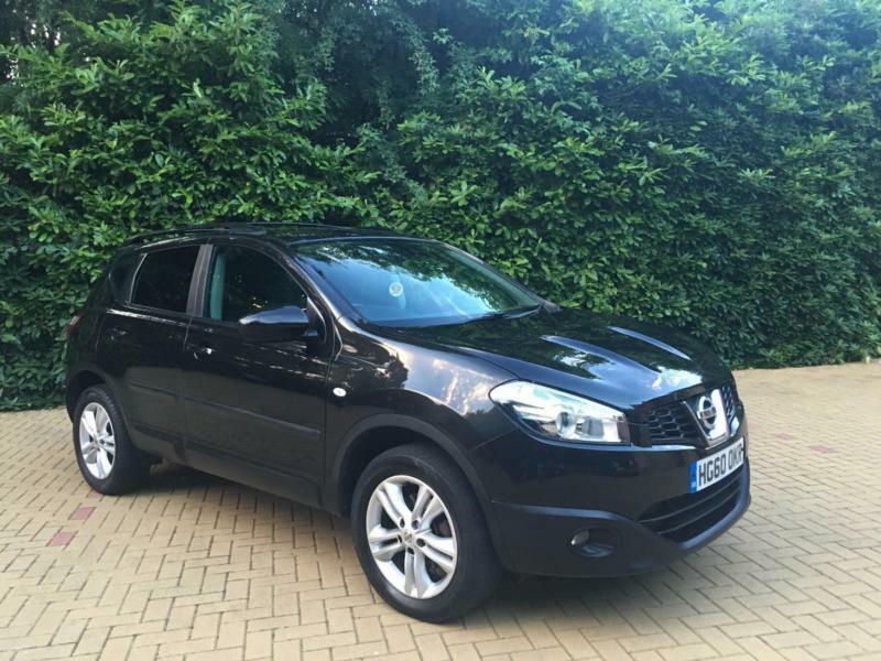 2010 nissan qashqai 2wd acenta stunning black family car in poole dorset gumtree. Black Bedroom Furniture Sets. Home Design Ideas