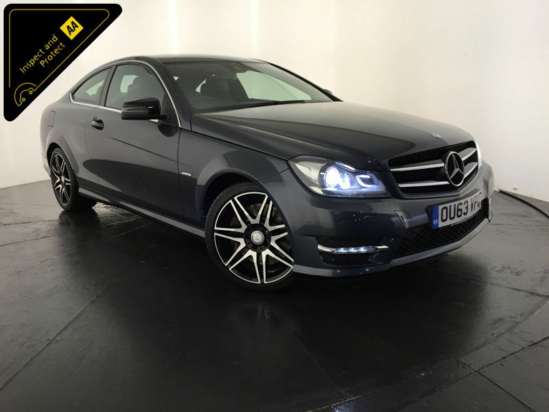 2013 63 MERCEDES-BENZ C250 AMG SPORT + CDI COUPE AUTOMATIC 1 OWNER FINANCE PX