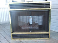 DOUBLE SIDED GAS/PROPANE FIREPLACE INSERT;  Sale/trade
