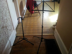 best offeri have a guitar stand and a music stand