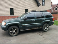 2003 Jeep Grand Cherokee Overland SUV, Crossover 4DR 4x4