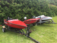 MINI BOAT 2 SEATER COLLECTION FOR SALE - GREAT FOR KIDS