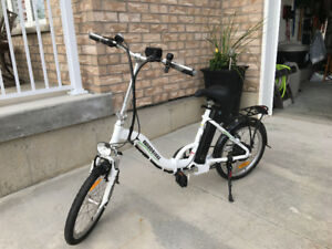 FOLDABLE ELECTRIC POWER ASSISTED  ladies Bike (NEW)