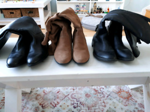 New Boot Lot (Leather and Suede)