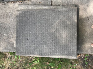 24x24 inch patio stones. Quantity-12. Two finishes $60