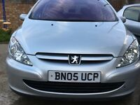 05 REG Peugeot 307 MANUAL DIESEL EXCELLENT CONDITION DRIVE SUPERB