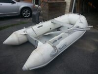 Titan Inflatable Boat, Perfect for Hunting or as a Tender