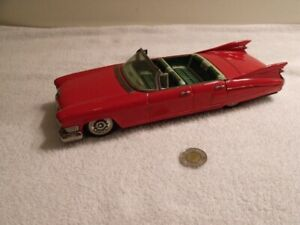 ANTIQUE JOUET CADILLAC 1959 A FRICTION MADE IN JAPAN