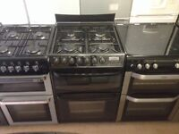 Cannon gas cooker with fan oven