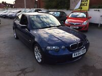 2004 54 BMW 316ti Msport low mileage