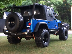 Built 1999 Jeep TJ trade for buggy, built jeep, rock cralwer