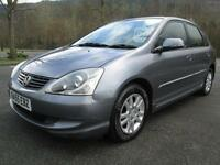 05/55 HONDA CIVIC 1.6 VTEC AUTOMATIC EXECUTIVE 5DR HATCH IN MET GREY