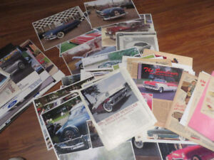 1950'S Ford Collectibles--Photos-Car ads--Posters