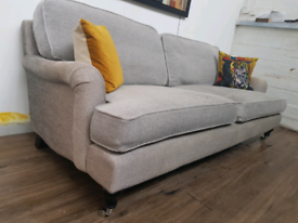 Sofa com Bluebell 3 seater sofa in grey fabric RRP £1700