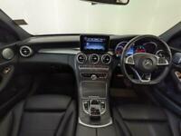2017 66 MERCEDES-BENZ C220D AMG LINE PREMIUM PLUS HIGH SPEC AUTO SERVICE HISTORY