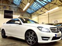 2013 Mercedes-Benz C Class 2.1 C220 CDI AMG Sport Plus Coupe 2dr Diesel