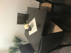 Dining table set (extendable)