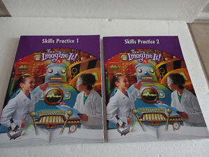 SRA Imagine It 4th grade textbook & skills practice 1 and 2 work London Ontario image 4