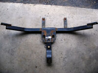 Trailer hitch and receiver for Tempo/Topaz