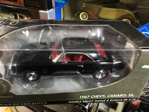 Chevrolet Camaro SS 1967 Authentics diecast 1/18 die cast