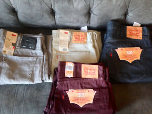 Brand New Mens Levis Jeans With Tags On All Size 38/32