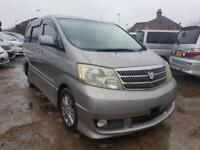 TOYOTA ALPHARD, 2004, 2.4 LITRE, 51,440 MILES, AUTOMATIC IN GREY