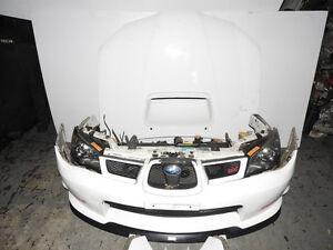 JDM Subaru WRX IMPREZA STI 2006-2007 Front End Spec-C Nose cut E