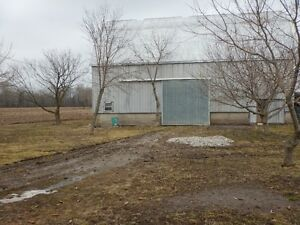 Barn for rent between Tillsonburg and Aylmer