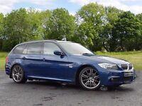 BMW 3 SERIES 2.0 318i M Sport Touring 5dr (blue) 2010
