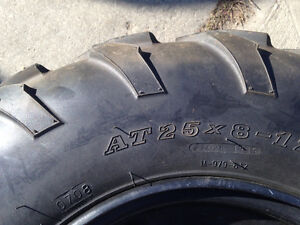 Factory quad tires and rims Strathcona County Edmonton Area image 2