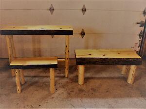 rustic cedar furniture