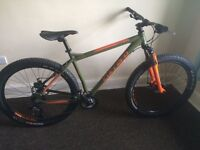 Carrera vendetta mountain bike (bargain).