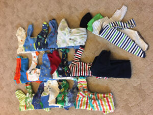 Tons of 6 month boy onesies
