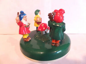 MUSICBOX MUSICAL GNOMES  FROM GERMANY London Ontario image 2