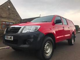 2015 15 TOYOTA HI-LUX 2.5 D-4D ACTIVE DOUBLE CAB 4DR MANUAL 4WD