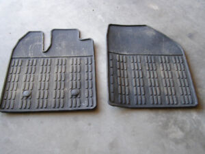 Lincoln 2011 - 2013 MKX Front and Rear rubber floor mats