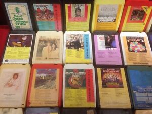 43 Assorted 8-Track Tapes Windsor Region Ontario image 1