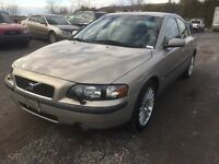 Volvo S60, fully loaded , certified ,on special