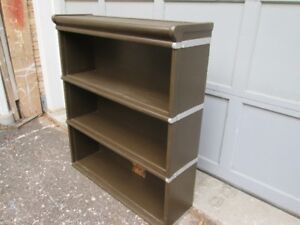 Vintage Painted Barrister Bookcase