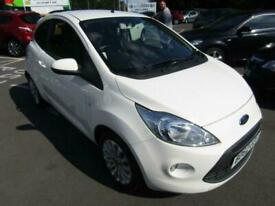 2013 Ford KA 1.2L ZETEC 3d 69 BHP Hatchback Petrol Manual