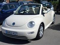 VOLKSWAGEN BEETLE CABRIOLET 2.0 AUTOMATIC (GREAT COLOUR GREAT SPEC)