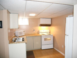 Bright 1 bedroom basement apartment close to Warden Eglington