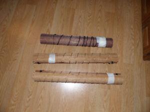 Stores de bambou