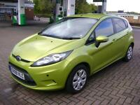 Ford Fiesta 1.6TDCi 2009MY Econetic SEVEN SERVICE STAMPS FREE TAX