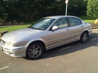 2004 jaguar x type sport 2.0 d 4 door # half leather # parking sendors # cheap insurance model #