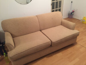 Pullout bed/couch cheap moving sale