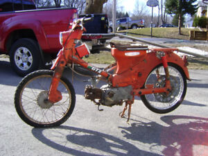 Wanted: Single Cylinder Hondas from the 1960s for Parts Bikes