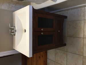 Sink Basin and Cabinet